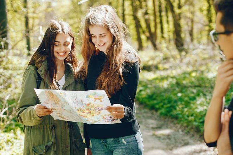 Ausflug Jugendliche