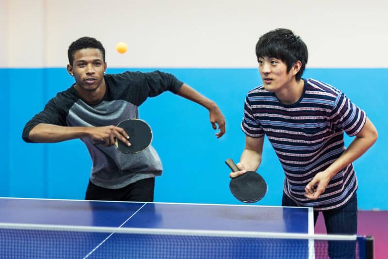 Jungs Tischtennis